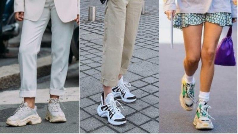 675ba45bcd3 Por que os tênis estilo  daddy sneakers  estão fazendo tanto sucesso  -  Creative Rádio Web