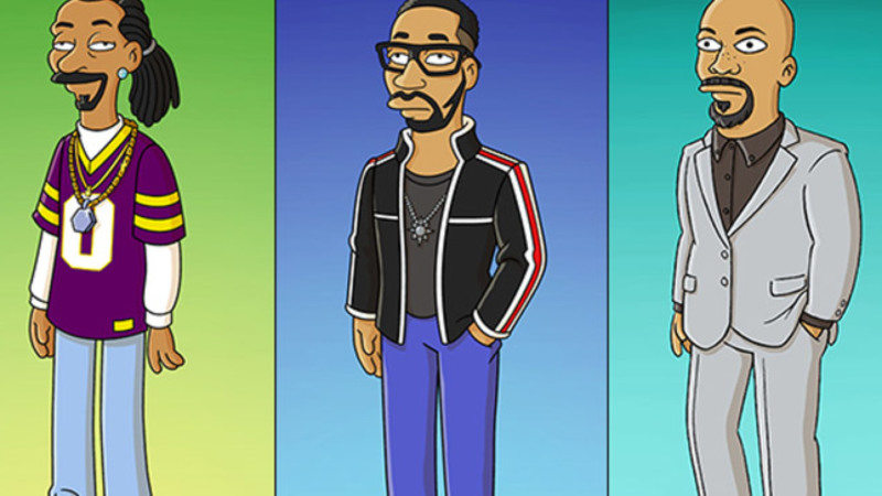 Common Snoop Dogg E Rza Estao Em Novo Episodio Dos Simpsons