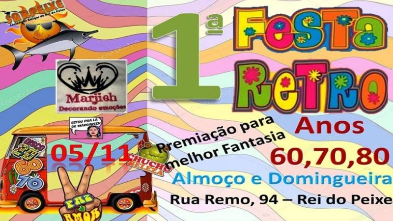 Primeira Festa Retro Do Quintão Radio Web Quintao Rs