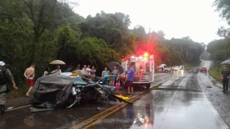 Acidente com vítima fatal na RS-129 em Guaporé - RADIO ATITUDE FM 98 7