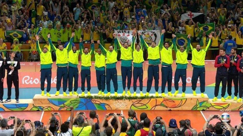1992, 2004, 2016: O Brasil é Tri Campeão Olímpico de Vôlei ...